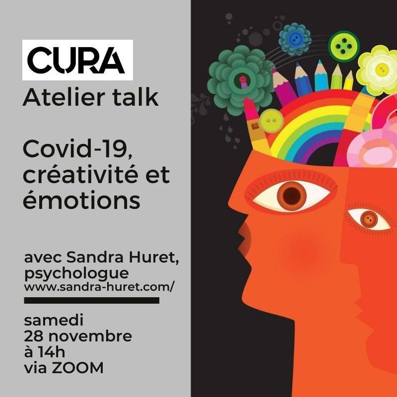 Cura en ligne - atelier creativite et emotions Cura Festivall