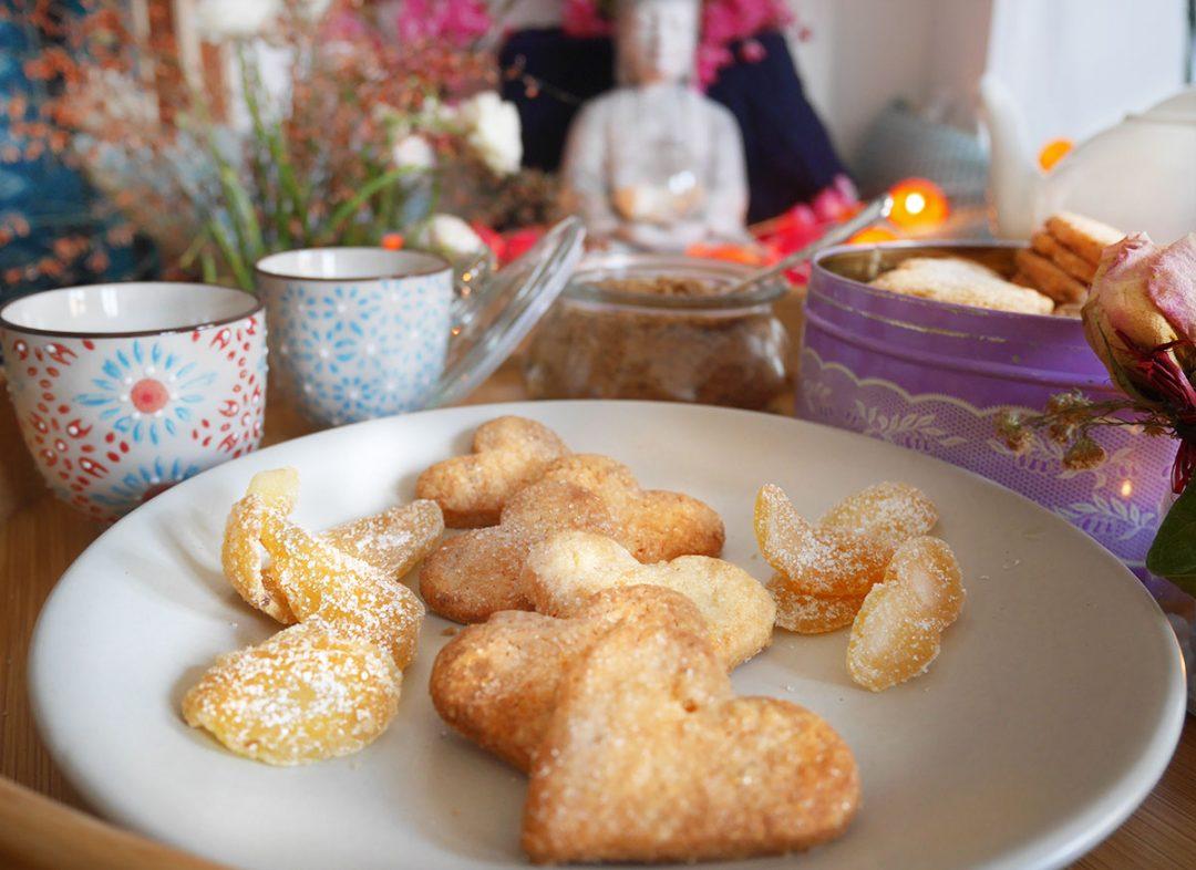 Bienfaits du gingembre et recettes de sablés au gingembre confit
