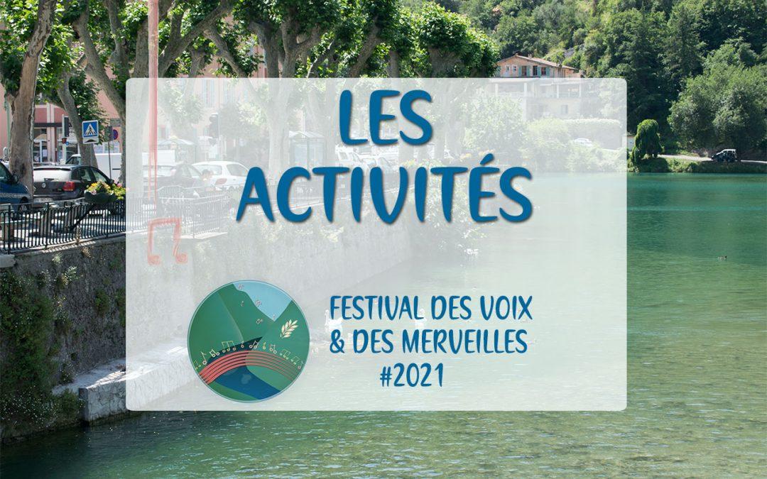 Les activités du Festival des Voix & des Merveilles | Breil-sur-Roya