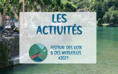 Les activités du Festival des Voix & des Merveilles   Breil-sur-Roya