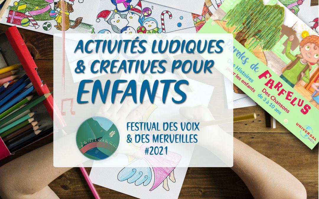 Festival des Voix et des Merveilles, un festival de découvertes pour les enfants